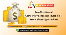 Best Share Market Investment in Chennai Market Trader, Forex Trading Signals, Earn More Money, Trading Company, Business Opportunities, Chennai, Investing, Marketing