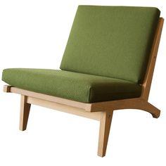 GE 370 Low Chair By Hans J. Wegner 1