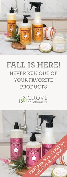 Sign up and discover the best natural household and personal products    https://www.grove.co/s/pinmmcdtrio/?offer=pinmmcdtrio&flow=hiw-spray&utm_medium=social&utm_source=pinprospect&utm_campaign=pinterest&utm_content=fallseasonal&utm_term=44.5p