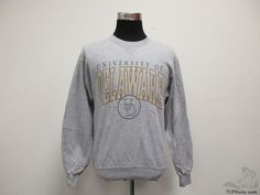 Vtg Soffe University of Delaware Fightin Blue Hens Sweatshirt sz M Medium NCAA #Soffe #DelawareBlueHens