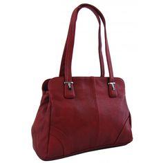 Dámská kabelka na rameno New Berry 807 vínově červená