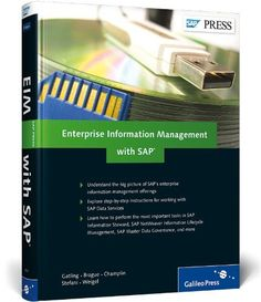 Enterprise Information Management with SAP by Ginger Gatling. $69.95. Publication: May 4, 2012. Author: Ginger Gatling. 500 pages. Publisher: SAP Press; 1st edition (May 4, 2012)