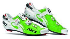 SIDI Wire Carbon Vernice Rennradschuhe Green Fluo 2016 - www.rider-store.de - Die ganze Welt der Bikes & Parts - Mountainbikes, MTB Rahmen und Mountainbike Zubehör von namhaften Herstellern wie Ghost, Pinarello, Yeti, Niner, Mavic und Fox