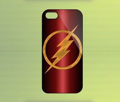 The Flash Logo Case For iPhone 4/4S, iPhone 5/5S/5C, Samsung Galaxy S2/S3/S4, Blackberry Z10