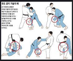 Judo 유도 :  2010년 이후 IJF (국제유도 연맹) 금지 기술, 삼보 대회에서는 사용.