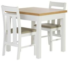 Home Kendall Solid Wood Drop Leaf Table 2 Chairs Two Tone At Argos Co Uk Visit To Online For Dining Sets