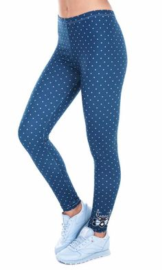88dd204522099 Women's Sexy Spring Fashion 3D Deer Dots Printed Fitness Yoga Pants. Fall  LeggingsPrinted ...