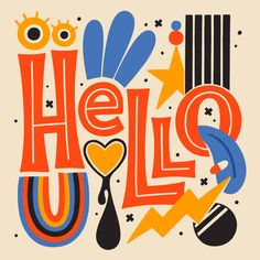 Hey there! I see some pretty new faces here and so I thought I'd introduce myself again! My name is Mel, I'm a lettering artist and… Graphic Design Posters, Graphic Design Typography, Lettering Design, Graphic Art, Typography Love, Typography Letters, Closer, Dorm Art, Artist Project