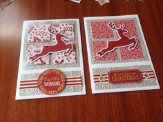 Reindeer Christmas - made by Melrose