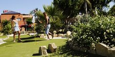 Mini golf Fuengirola. Crazy golf adventure park near Malaga in Spain. - Fuengirola Adventure Golf.