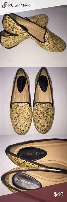 NWT Antonio Melani fur loafers NWT Antonio Melani fur loafers! ANTONIO MELANI Shoes Flats & Loafers