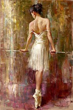 Ballet Dancer - Easy Ballet Girl Painting - DIY Easy Ballerina Paint By Number Kits Art Ballet, Ballet Painting, Ballet Dancers, Diy Painting, Painting & Drawing, Ballerinas, Woman Painting, Poesia Visual, Beautiful Paintings
