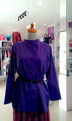 Etnik purple kain spandek