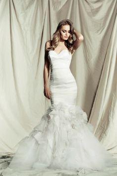 Pallas Couture Destinne 2013 / 2014 Wedding Dress Collection | Bridal Musings