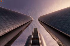 Photo Etihad Towers by fotomanufaktur-hertzsch.de  on 500px