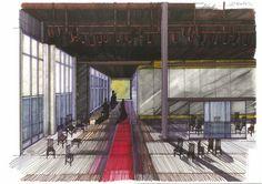 "Boceto escenografía ""Así es, si así os parece"" de Luigi Pirandello. Producciones Andrea D'Odorico. Temporada 2006/2007. Luigi, Basketball Court, Theater, Seasons, Sketches"