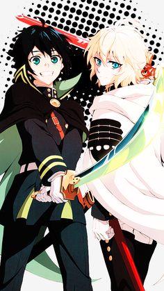 Yuu and Mika