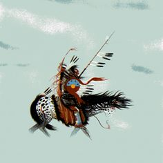 Caught in the Northern by Rance Hood kp Native American Poems, Native American Drawing, Native American Paintings, Native American Artists, American Indian Art, Native American History, Indian Paintings, American Indians, Esoteric Art