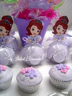 Cupcakes and Candy Apples