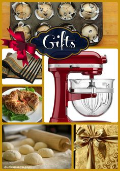 Best gift ideas to buy for Food Bloggers and home chefs to have fun in the kitchen! #giftideas www.ducksnarow.com