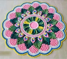 Rangoli Designs For Diwali 2019 Best Rangoli Images, Rangoli Designs Simple Diwali, Beautiful Rangoli Designs, Rangoli Designs Flower, Free Hand Rangoli Design, Small Rangoli Design, Rangoli Ideas, Rangoli Designs With Dots, Rangoli Designs Diwali