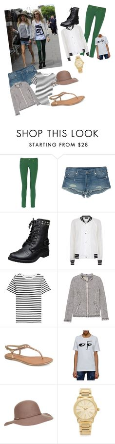 """""""Cara and Poppy Delevingne street-style"""" by ellsxs ❤ liked on Polyvore featuring M Missoni, True Religion, Antipodium, T By Alexander Wang, Rebecca Taylor, Chinese Laundry, Dsquared2, Accessorize, Michael Kors and GetTheLook"""
