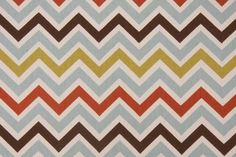 Premier Prints Zoom Zoom Cotton Drapery Fabric in Village/Natural CLOSEOUT
