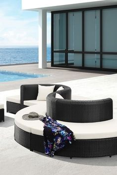Ipanema Round Bench - Espresso only a couple hundred - a bit more for the location....