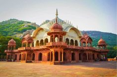 Alwar, Rajasthan is a beautiful town north-west of India. With a vibrant culture and varying landscapes, it remains one of my favorite destinations. Amazing India, Blue City, Illusion Art, Green Man, Beautiful Architecture, India Travel, Historical Sites, Time Travel, Gertrude Bell