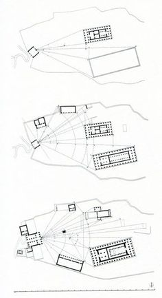 heroandleandro: Relational Spacing in Ancient Greece: Athens, Acropolis I (ca. 530 BC), Acropolis II (ca. 480 BC), & Acropolis III (after 450 BC)