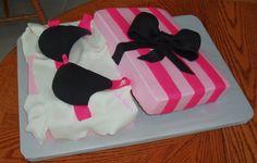 Victorias Secret personal shower cake for Corey?