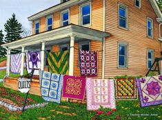 Thelma Winter, Quilts Nine on the Line - Lancaster