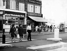 Crown Lane Morden Surrey England in 1970 South London, Old London, Back In Time, Back In The Day, Local History, Wimbledon, Surrey, England, Street View