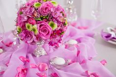 Flowers for Events by Dutch flower export company Florca Westland > Inspiration > Tablepiece > Small arrangement