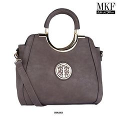 MKF Collection Cecily Medallion Shoulder Bag with Removable Strap - Assorted Colors at 80% Savings off Retail!