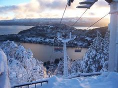 San Carlos de Barriloche - Snow boarding in Argentina! here's hoping nothing breaks! Ushuaia, Oh The Places You'll Go, Places To Travel, Rustic Pictures, In Patagonia, The Beautiful Country, Winter Photography, Amazing Destinations, Snowboarding