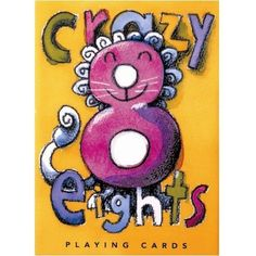Eeboo Crazy Eights Playing Cards by eeBoo. $8.97. Card games make kids think and count, and these gorgeous, giant cards make it even more fun. (One reason they're so special: the artwork was created by top children's book illustrators!) Thick, sturdy, and laminated, so they withstand heavy handling. Handy storage box included with each deck. Choose Hearts, Go Fish, or Crazy Eights. For ages 5 and up.. Hearts deck includes 44 playing cards and four kid-friendly suits: heart...