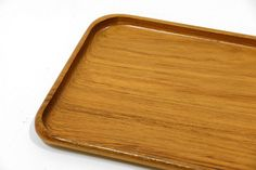 Vintage Swedish mid century teak tray from Upsala by Before1971