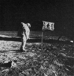 first man on the moon 1969