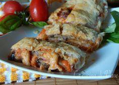 rotolo di parmigiana in crosta.
