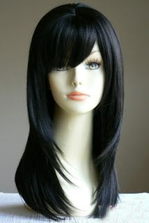 Want long black shiny hair like this