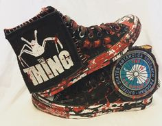 b0969d1d87ba3f The Thing Chuck Taylor All Star Converse shoes! Horror shoes from Chad  Cherry Clothing.
