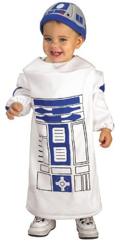 Amazon.com: Rubie's Costume Co Star Wars Baby Bunting R2D2 Costume: Clothing