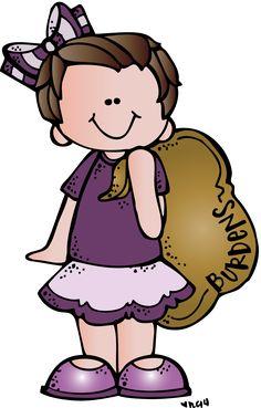 Melonheadz girl with bag of burdens Lds Clipart, Cute Clipart, Boy And Girl Drawing, Heart Clip Art, Teaching Posters, School Clipart, Bible Art, Happy Kids, Doodle Art