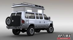 The OPTIMA Batteries Ujoint Off Road Ford #Econoline E350 4x4 van will debut at the 2015 SEMA Show in Las Vegas. Read all about it in the Power Source blog