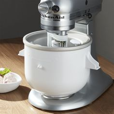 Kitchenaid Stand Mixer Ice Cream Maker Attachment Expand The Potential