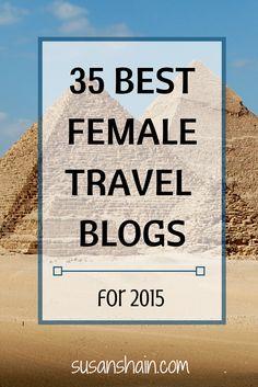 best female travel blogs 2015 - pinterest