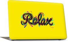 Relax Laptop Skin Macbook Skin, Laptop Skin, Art Reproductions, Original Artwork, Custom Design, Relax, How To Apply, Keep Calm