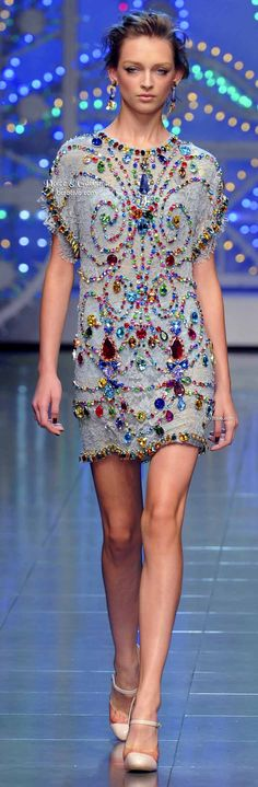 Dolce & Gabbana -Dress - Haute Couture / Vestido - Alta Costura