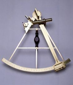 James Cook's sextant, c. 1770. Courtesy British National Maritime Museum